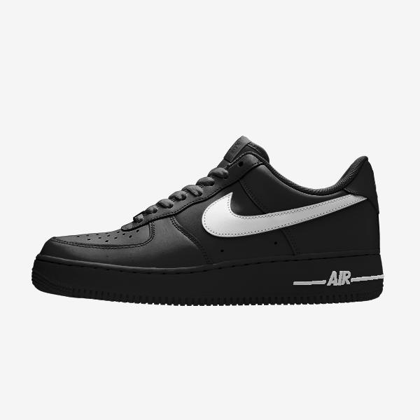 Air Force 1 – Noir – Virgule couleur | Netshoes